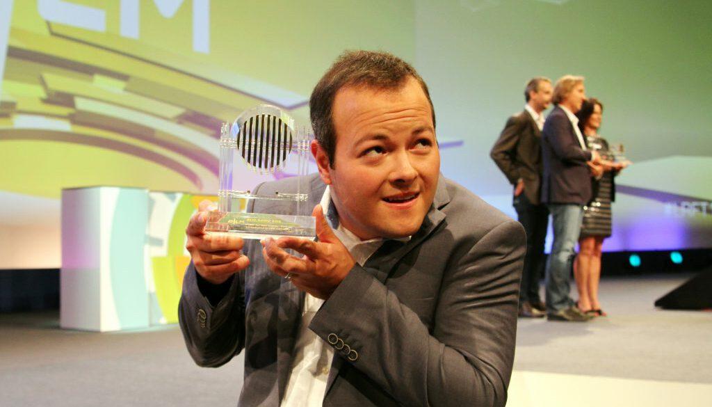 Max Foerster hat iun Nürnberg den Bayerischen Hörfunkpreis 2016 bekommen.