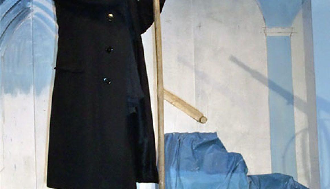 Anderas Wehner als Boanlkramer im Stück -Der Brandner Kaspar- der Langenbrucker TheaterühneFoto: Langenbrucker Theaterbühne