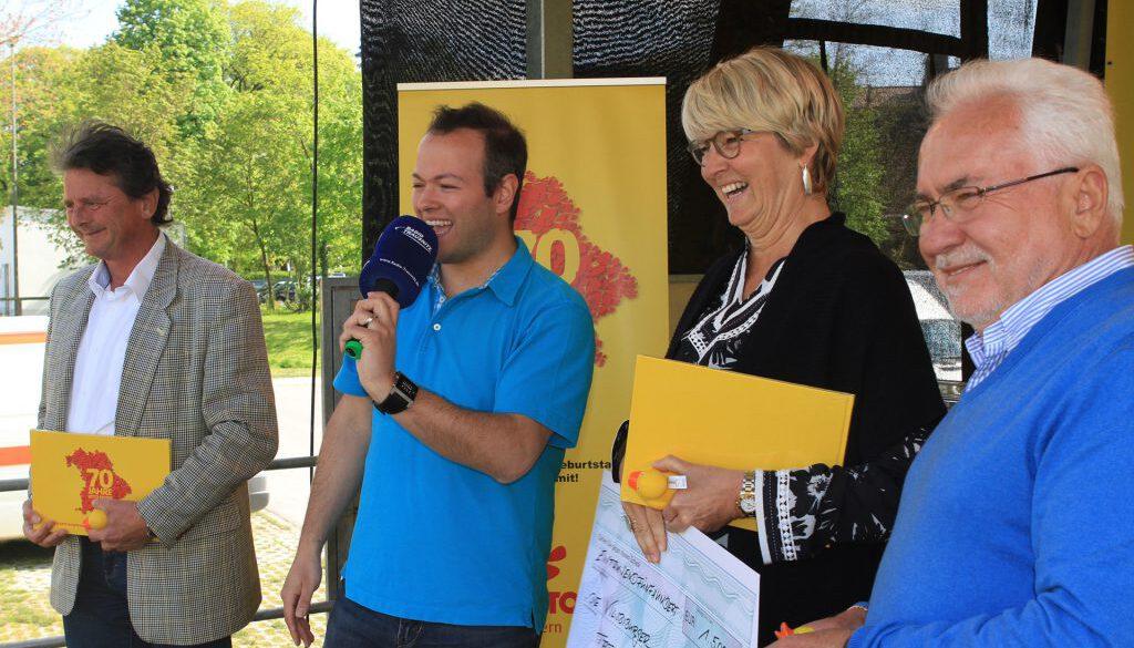 Lotto Bayern Roadshow mit Max Foerster